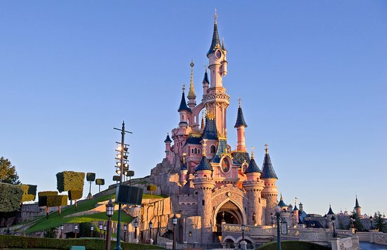 Parc d'attractions disneyland Paris